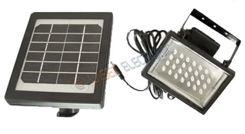 Illuminazione led con pannello solare lampada a led portatile